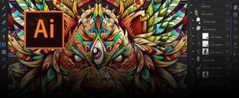 Szkolenie Adobe Illustrator zaawansowany - BANER - KM STUDIO - szklenia