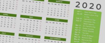 Kalendarz szkoleń otwartych na rok 2020 - KM Studio - baner