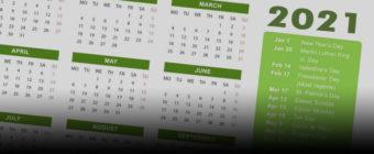 Kalendarz szkoleń otwartych na rok 2021